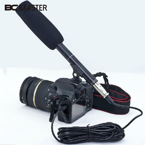 "BCMaster pro 14.37"" Camera Camcorder Shotgun Microphone MIC for Nikon Canon Interview"