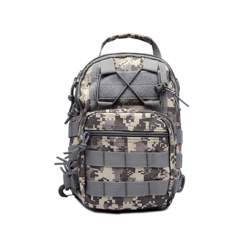 Outdoor Shoulder Military Backpack 600D Oxford Fabric Sling Shoulder Sports Bag For Camping Travel Hiking Trekking Climbing Bags