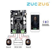 VHM 307 tda7492p bluetooth receptor amplificador placa de áudio 25w * 2 alto falantes música modificada mini amplificadores diy duplo canal