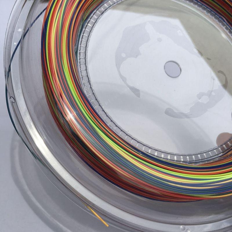 2017 Hot selling ZARSIA Rainbow Badminton String Reel 200M Free shipping