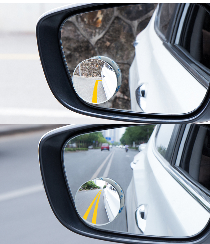 HTB1.aITQkzoK1RjSZFlq6yi4VXaF 2pcs/lot Car Accessories Small Round Mirror Car Rearview Mirror Blind Spot Wide angle Lens 360 degree Rotation Adjustable