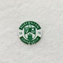 2 шт. Футбол металлический значок печати логотип 18 мм