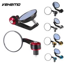 1Pair 7/8″ Motorcycle Mirrors Round Bar End Rear Mirrors Motorcycle Motorbike  Scooters Rearview Mirror Side Mirrors Cafe Racer