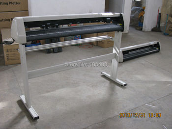 "2014 new vinyl plotter cut machine 24"" Cutter Plotter free ship TURKEY"