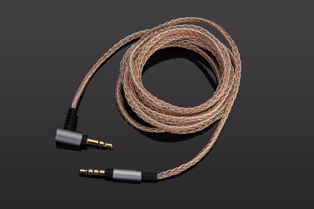 4FT/6FT 7N 3.5mm Mise À Niveau OCC Argent Audio Câble Pour SONY MDR-XB950N1 XB950B1 XB950 MDR-1A 1ABT 1 ADAC 100ABN 100AAP WH-CH700N