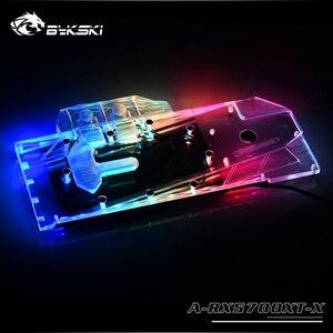 Image 5 - Bykski A RX5700XT X GPU Blocco di Raffreddamento Ad Acqua per Frontier AMD Radeon RX 5700XT/5700