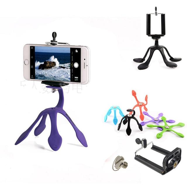 Новейший мини Гибкий штатив для мобильных телефонов, смартфонов, телефонов, подставка для путешествий, Открытый Портативный Прекрасный Gecko Spider