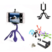 Newest Mini Flexible Tripod for Mobile Phone Smartphone  Phones Stand Hoders Travel Outdoor Portable Lovely Gecko Spider