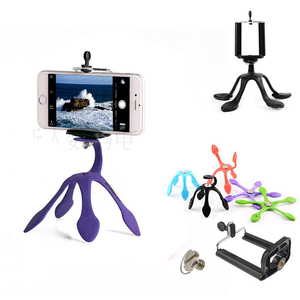 Image 1 - Newest Mini Flexible Tripod for Mobile Phone Smartphone  Phones Stand Hoders Travel Outdoor Portable Lovely Gecko Spider