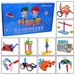 Promotie Pack 8 # Diy Speelgoed Tien Soorten Verschillende Elektronica Onderwijs Self Assembly Kit Voor: science Diy Kits Kind