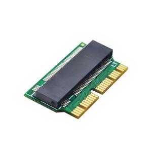 Image 3 - Adaptador m.2 para macbook air ssd, adaptador mac ssd m key m.2 pci e x4 ngff ahci ssd 12 + 16pin para macbook air 2013 2014 2015
