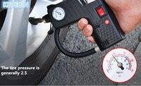 Portable 12V Car Auto Electric Air Compressor Tire Inflator Pump Rescue lamp for Vw polo tiguan golf 7 4 6 passat b6 Accessories