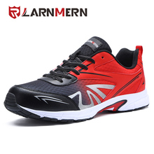 LARNMERN Men Safety Shoes Steel Toe Work Shoes Ultra Lightweight Breathable Sneaker Casual Footwear