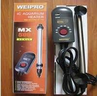 Weipro-calentador de titanio para acuario, 200W, 300W, 500w, certificado CE, IPX8