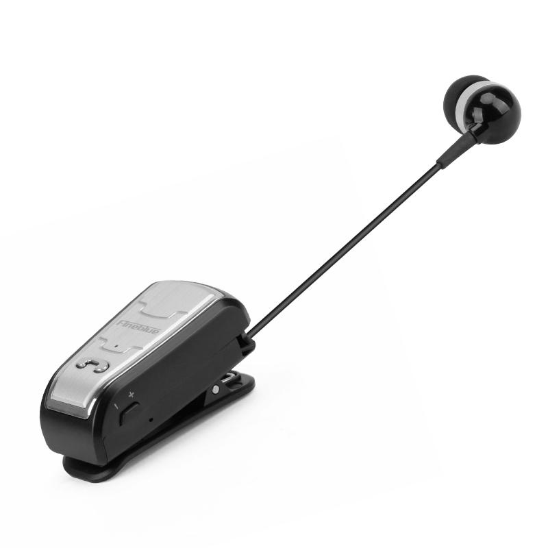 Original FineBlue FQ208 Clip-on Bluetooth Headset Anti-lost Retractable Wireless Earphone Clip Handsfree Headphone With Micr (16)
