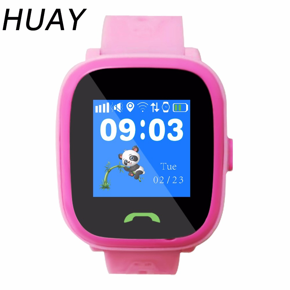 New GPS Tracking Watch For Kids Touch Screen Smart SOS Call Finder Location Swimming IP67 Waterproof  Children Watch HW8S