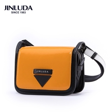New High Quality Small Ladies Messenger Bags Leather Panelled Shoulder Bags Women Crossbody Bag For Girl Brand Women Handbags small shoulder bag for women 2017 luxury famous brands designers messenger bags high quality pu leather panelled crossbody purse