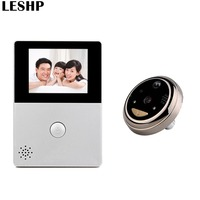 2 8 Inch LCD Wifi Peephole Wireless APP Smart Video Doorbell Night Vision HD Camera Door