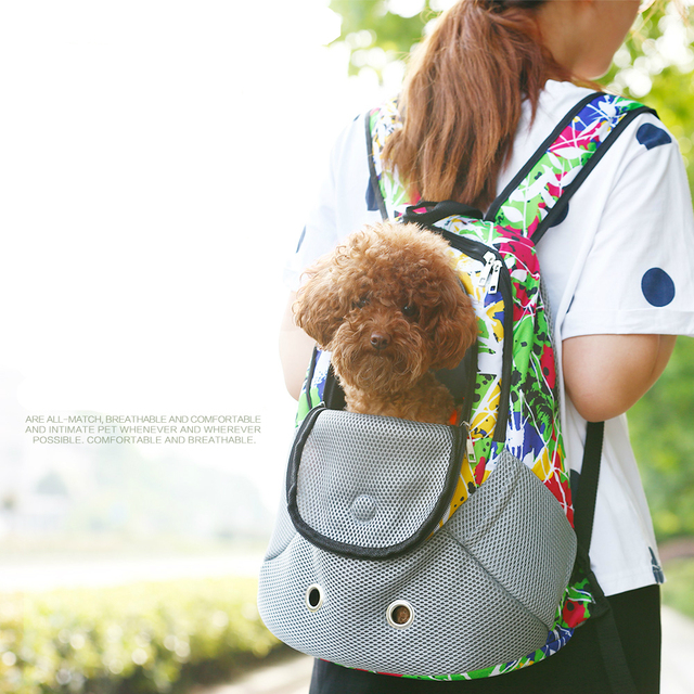 Designer Doggie Backpack