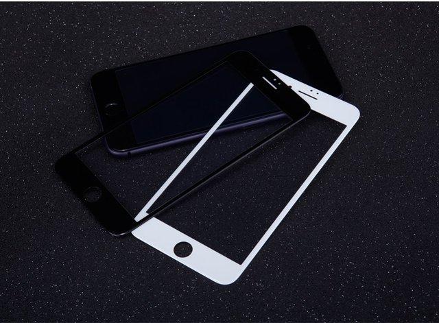 Arco 3d 0.23mm cobrir totalmente ap pro + protetor de tela de vidro nillkin anti-explosão temperado para iphone 7 plus temperado (5.5 polegada)