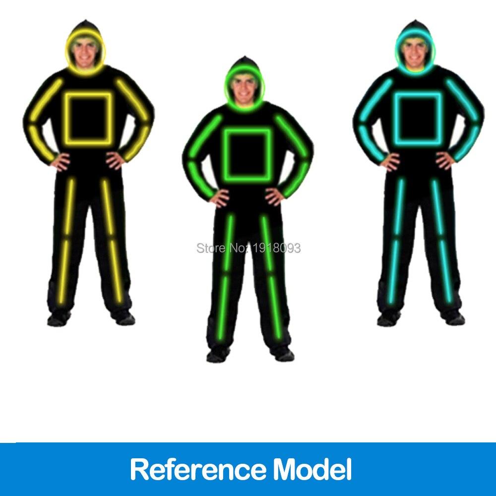 Aliexpress.com : Buy New Style EL Wire Suits LED Strip Luminous ...