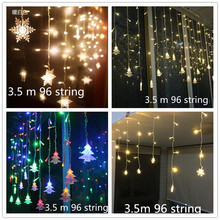 3.5m 96lights LED Christmas Tree Decorations Natal Garland New Year for Home Kerst Navidad 2018 Decor