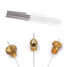 Stainless Steel Nozzle Cleaning Needles 8 pcs/Set