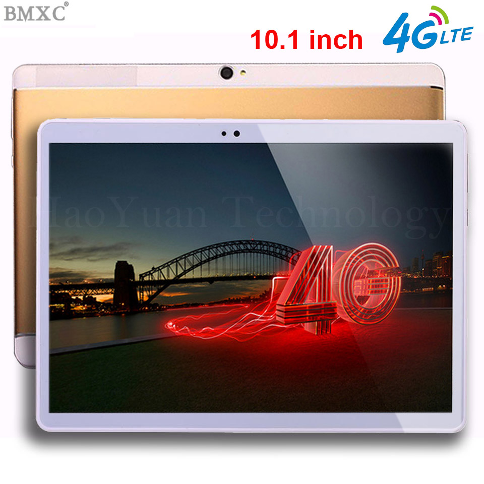 3G call phone 4G LTETablet PC Octa Core 4GB RAM 64GB ROM Dual SIM Cards 3G WCDMA Android 7.0 GPS Tablet PC 10 10.1 +Gifts