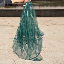 Sale Folded Portable 6 Hole Fishing Net Fish Network Casting Nets Crayfish Catcher Trap China Cages For Mesh Cheap Throwing Cast