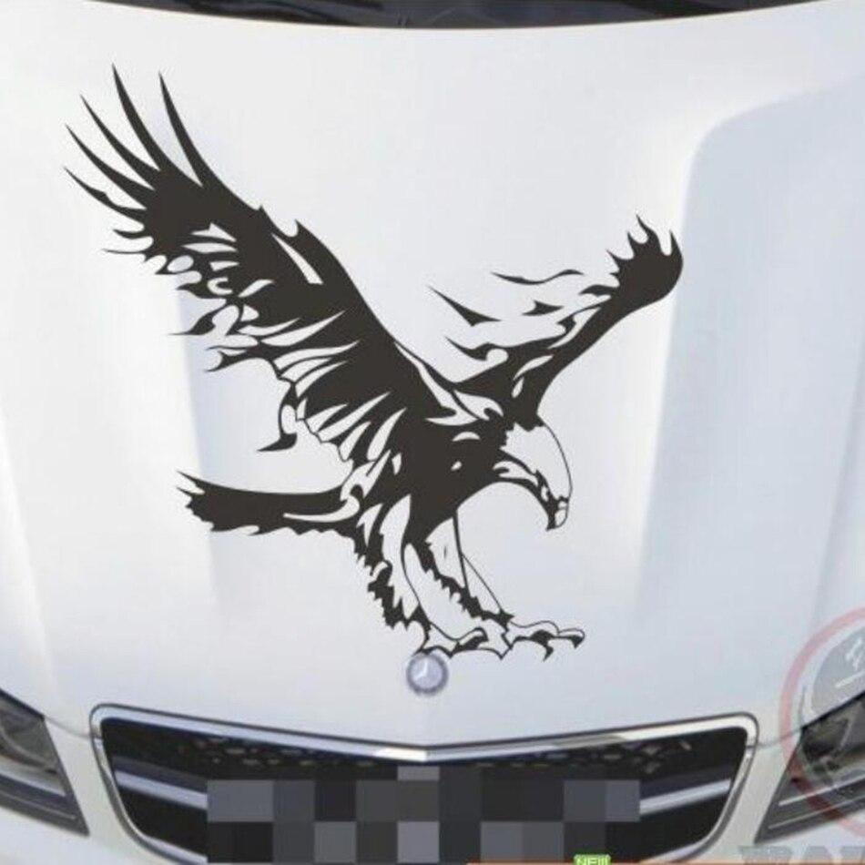 Cute car sticker designs - 3d Eagle 50cm Cute Car Stickers Car Styling Vinyl Decal Sticker For Cars Acessories Decoration