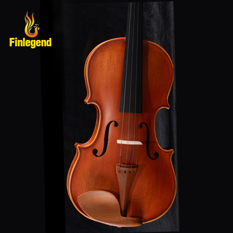 New High Grade Violin 4/4 Size Violin handmade violin with free bow free case Handmade right Tone FLV2110 Solid wood Spruce austrian spruce ch j b collion mezin copy french master violin no 1408 nice sound antique violin100% handmade