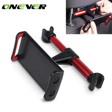 Onever 4-11 inch Phone Tablet PC Car Holder Stand Back Auto