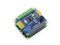 1PCS Raspberry Pi High Precision AD DA Digital Analogy Analog Digital Module ADS1256 DAC8532 Brand New