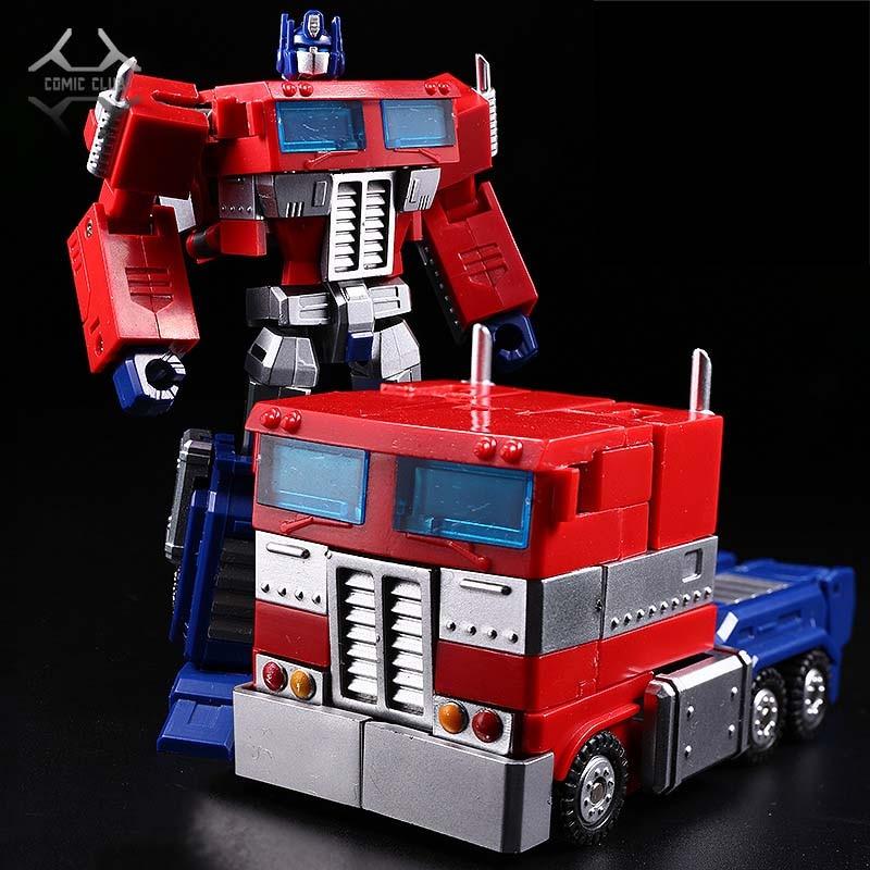 Boys Toys Transformation Robot Truck Pocket Action-Figure Comic Club Battle Commander