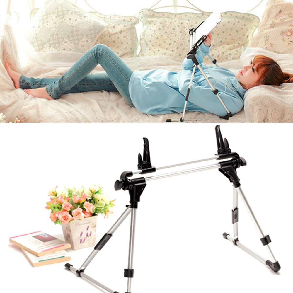 ipad holder for bed auto lock tablet mount holder floor desktop stand lazy bed 31137
