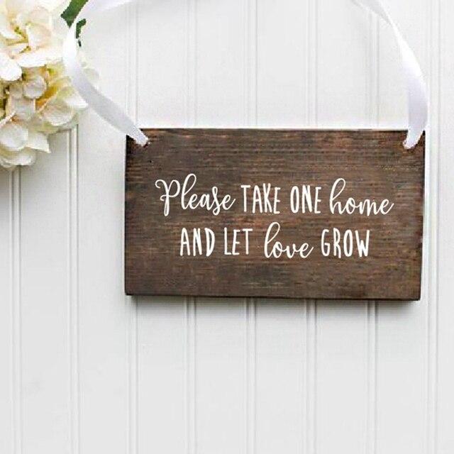 사랑하자 결혼식 서명 비닐 아트 스티커 즙이 많은 호의 서명 데칼 결혼식 액세서리 데칼 장식 신부 샤워 표지판