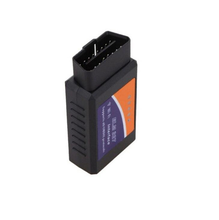 DHL или FedEx 100 шт. ELM327 wifi OBD2/OBDII автоматический диагностический сканер инструмент ELM 327 wifi v1.5