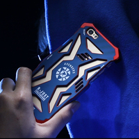 R Just Avengers Superheroes Metal Cell Phone Case For IPhone 5 5s SE Anti Knock Shell