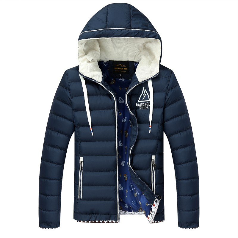 Подробнее о 2016 New Brand Winter Jacket Men Hooded Fashion Clothes Men's Jackets and coats Casual Mens Parkas Thicken Warm Coat for Male new arrival winter jacket men fashion brand clothing casual jackets and coats for male warm thick cotton pad men s parkas m 4xl