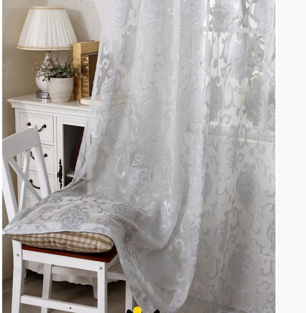 curtains for bedroom window voile cortians sheer cortina tulle ...