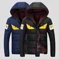 4 cores plus size M-3XL homens jaqueta de inverno dos homens casaco de inverno da marca homem roupas casacos masculino 2016 Venda Quente