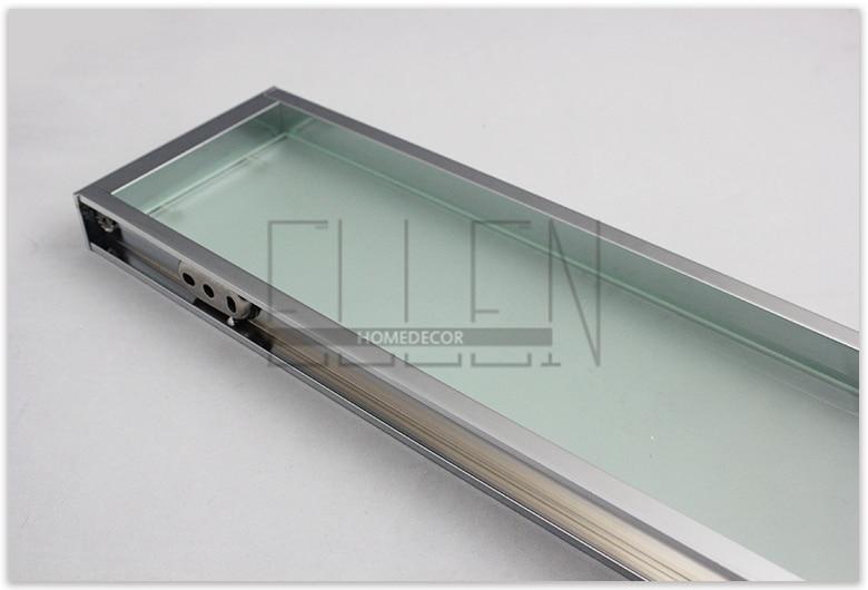 Aliexpress.com : Buy Bathroom Glass Shelf Glass Metal Shower Shelves  Bathroom Accessories From Reliable Shelf Prices Suppliers On ELLEN  HOMEDECOR Official ...