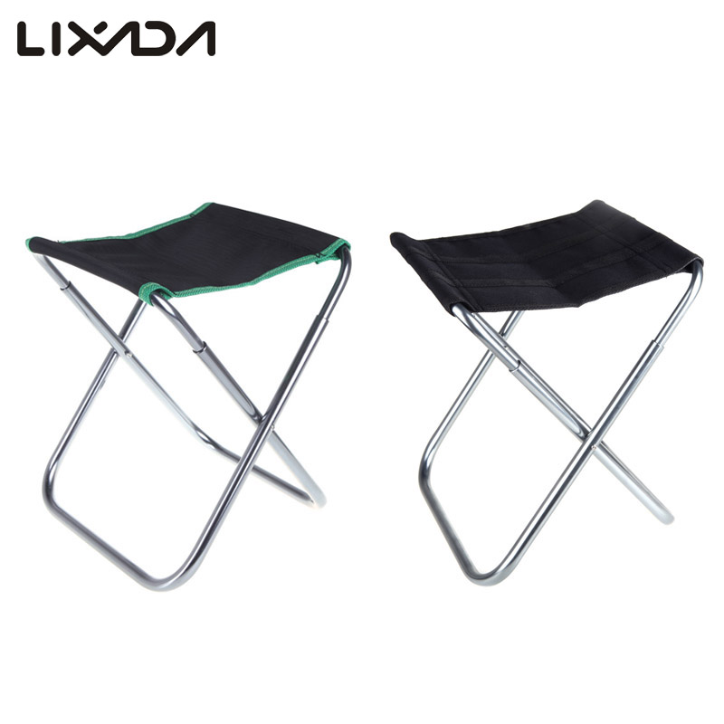 Portable Folding Fishing Chairs Aluminum Oxford Cloth
