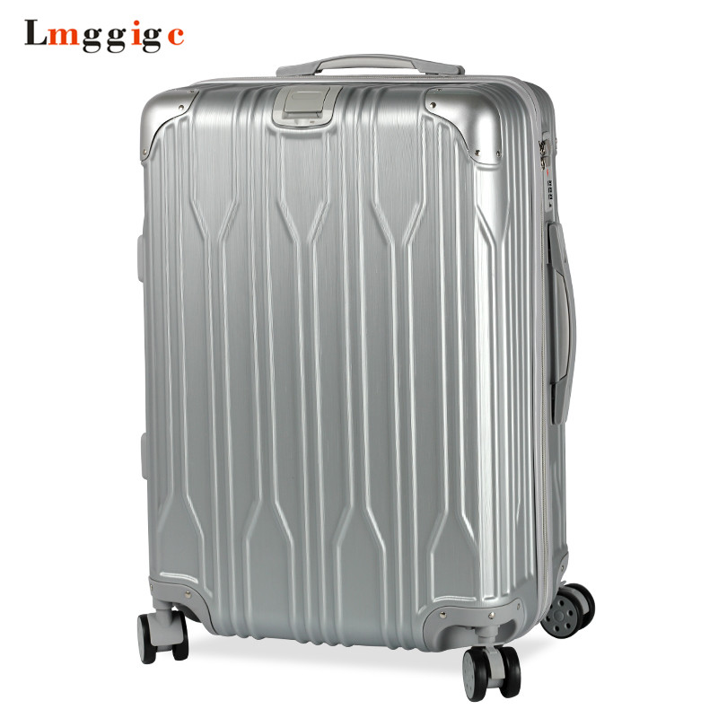 Nniversal wheel Luggage Suitcase Bag,Fashion Spinner Rolling Travel Trolley Case,PC+ABS Carry-On,New Multiwheel Box with Lock car trunk storage box folding suitcase with wheel portable new top quality travel trolley carts 3 colors daily usage