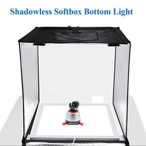 Image 3 - Mini 23cm/8Inch Photo Studio LED Light Box Photography Shadowless Panel Dimmable Softbox Bottom Light for Jewelry Cosmetic Craft