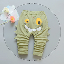 Funny Cartoon High Quality 100% Cotton Baby Trouser Kids Pants 0-2 Year
