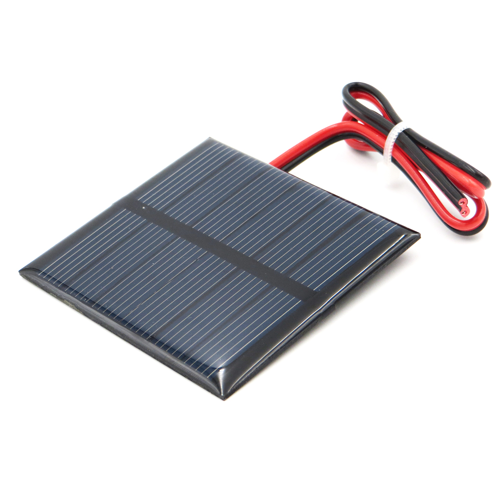 1pc x 3V 150mA with 30cm extend wire Solar Panel Polycrystalline Silicon DIY Battery Charger Small Mini Solar Cell cable toy