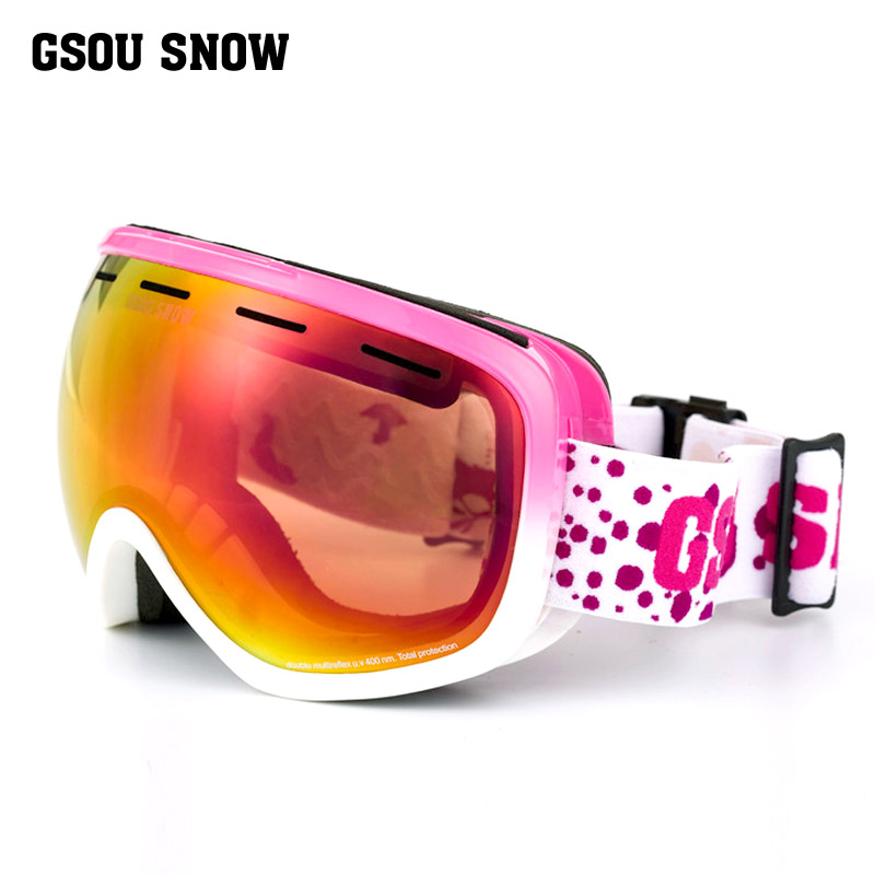 2018 winter outdoor ski goggles men women snowboard goggles snow eyewear snowboarding free shipping csg goggles 38 kinds of fashionable ski goggles the new fashion personality ski goggles double lens ski goggles