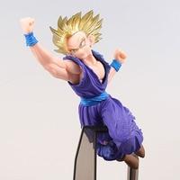 Original Banpresto Super Saiyan 2 Son Gohan figure Dragon Ball Z Figurine scultures big 7 Collection Model toys