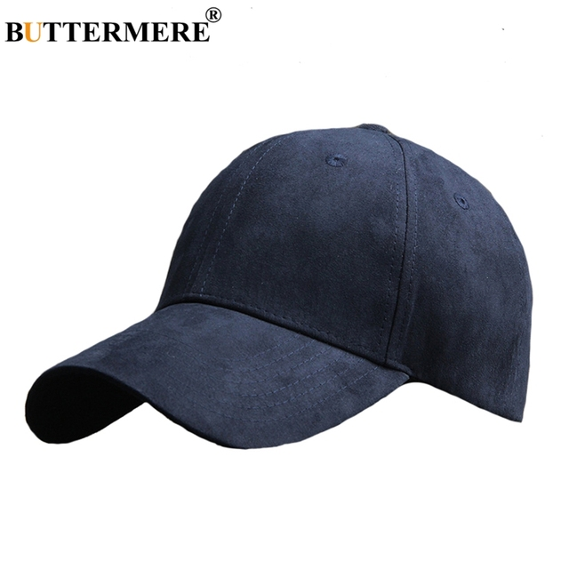 BUTTERMERE Navy Blue Baseball Cap Mens Korean Style Basic Casual Dad Hats  Spring Summer Stylish Classic Hip Hop Hats For Womens b3827440a69